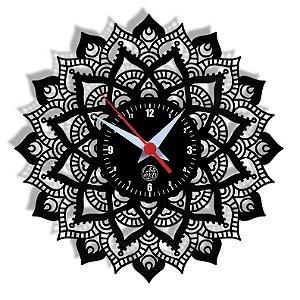 Relógio de Vinil - Mandala Religião