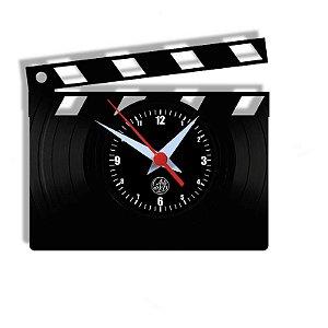 Relógio de Vinil - Claquete Cinema Filme