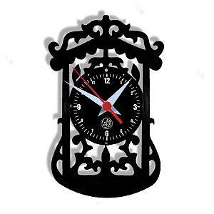 Relógio de Vinil - Clássico Relógio Vinil