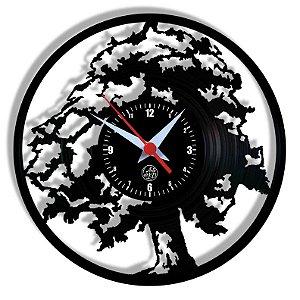 Relógio de Vinil - Árvore, Natureza