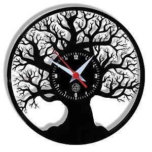 Relógio de Vinil - Árvore Natureza