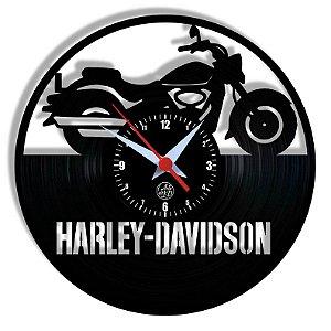 Relógio de Vinil - Moto Esporte Motociclista