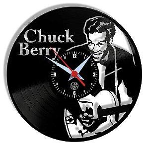 Relógio de Vinil - Chuck Berry Rock Blues