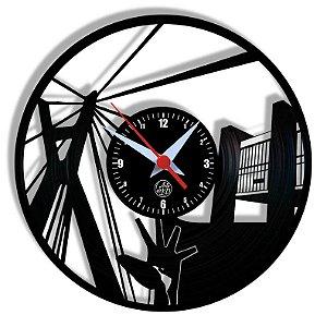 Relógio de Vinil - São Paulo S Viagem Turismo