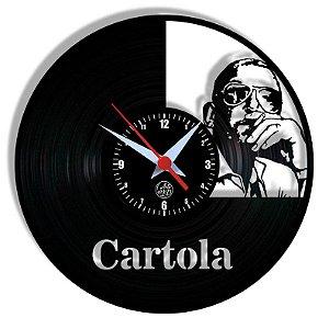 Relógio de Vinil - Cartola Samba Brasil Mpb