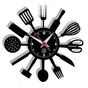 Relógio de Vinil - Cozinha