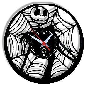 Relógio de Vinil - O Estranho Mundode Jack Cinema