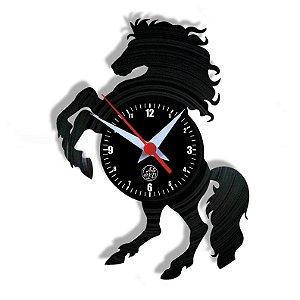 Relógio de Vinil - Cavalo Hipismo Esporte