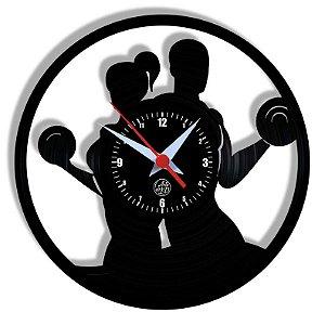 Relógio de Vinil - Academia Esporte Saúde