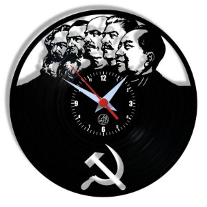 Relógio de Vinil - Comunistas