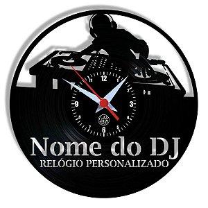 Relógio de Vinil - Relógio Personalizado