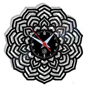 Relógio de Vinil - Mandala Modelo 5
