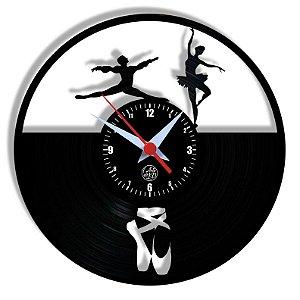 Relógio de Vinil - Ballet
