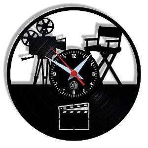 Relógio de Vinil - Cinema