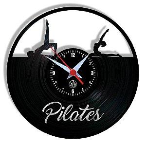Relógio de Vinil - Pilates