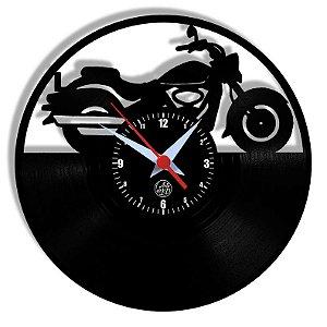 Relógio de Vinil - Harley Moto