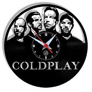 Relógio de Vinil - Coldplay