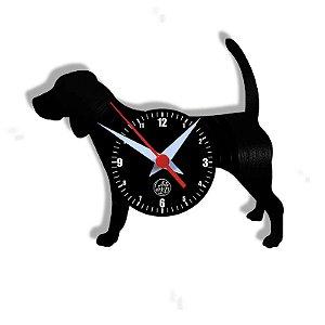 Relógio de Vinil - Cachorro Beagle