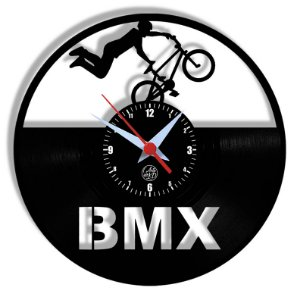 Relógio de Vinil - Bmx