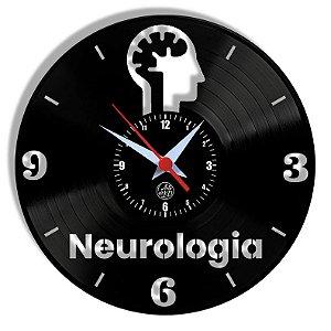 Relógio de Vinil - Neurologia