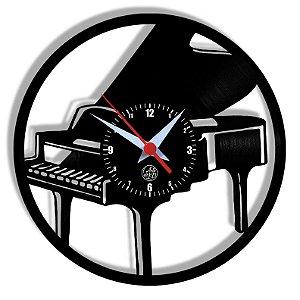 Relógio de Vinil - Piano