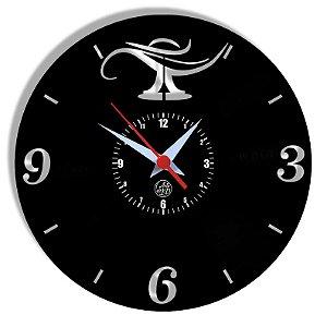 Relógio de Vinil - Enfermagem