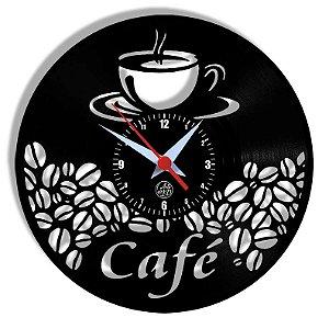 Relógio de Vinil - Café Cozinha