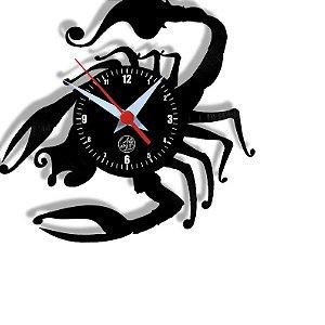 Relógio de Vinil - Escorpião