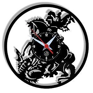 Relógio de Vinil - São Jorge Novo