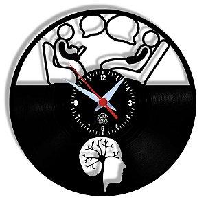 Relógio de Vinil - Psiquiatra