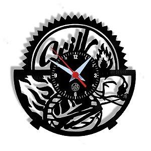 Relógio de Vinil - Churrasco