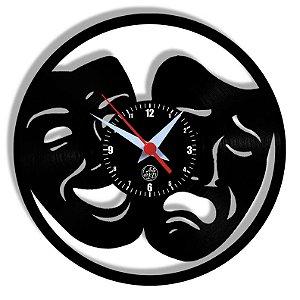 Relógio de Vinil - Teatro Arte