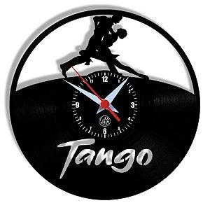 Relógio de Vinil - Dança Tango