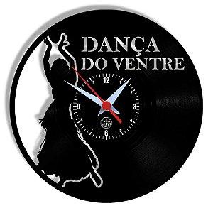 Relógio de Vinil - Dança Ventre