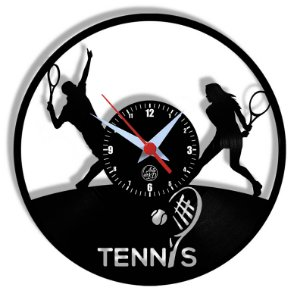 Relógio de Vinil - Esporte Tennis