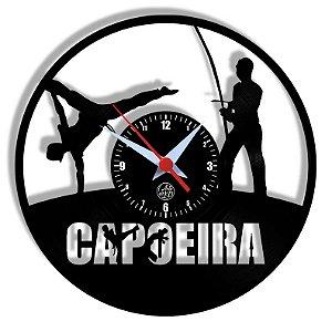 Relógio de Vinil - Esporte Capoeira Artes Marciais