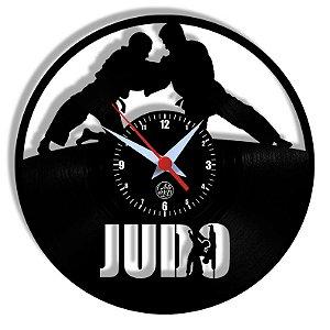 Relógio de Vinil - Esporte Judo Artes Marciais