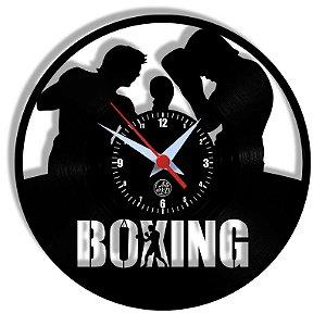 Relógio de Vinil - Esporte Boxe Artes Marciais
