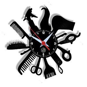 Relógio de Vinil - Salão De Beleza