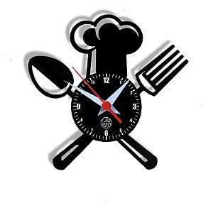 Relógio de Vinil - Cozinha Cheff