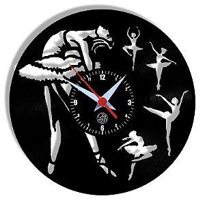 Relógio de Vinil - Dança Ballet
