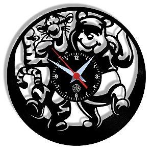 Relógio de Vinil - Pooh