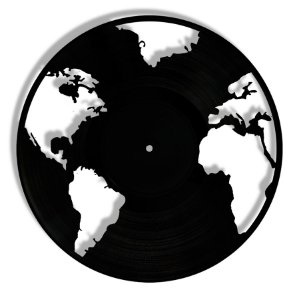 Vinil - Mapa Mundi Planeta