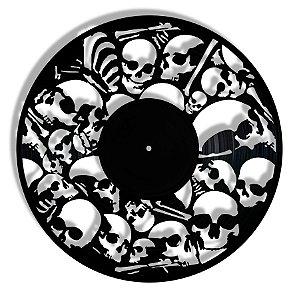 Vinil - Ossos Crânio Dark