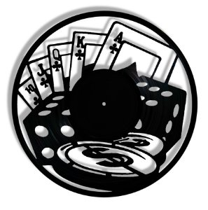 Vinil - Poker Baralho Cartas