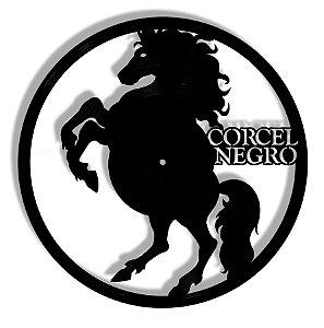 Vinil - Cavalo Corsel Negro