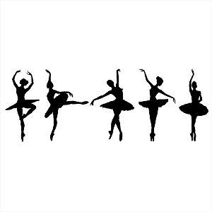 Adesivo - Bailarinas Dança