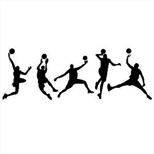 Adesivo - Jogadores de Basquete Esporte