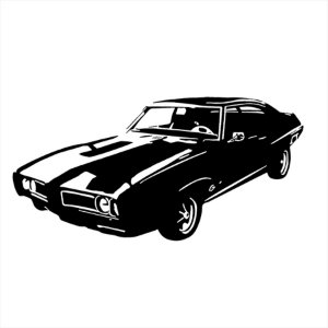 Adesivo - Carro Clássico Automóveis