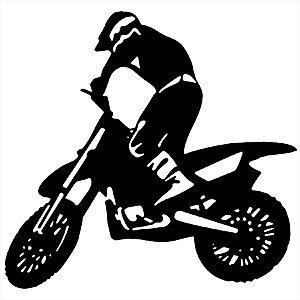 Adesivo - Motocross Automóveis